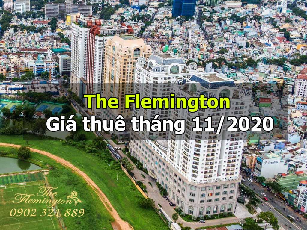 Giá thuê căn hộ The Flemington mới nhất tháng 11