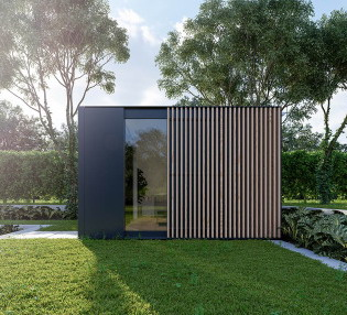 rumah minimalis modern tampak samping