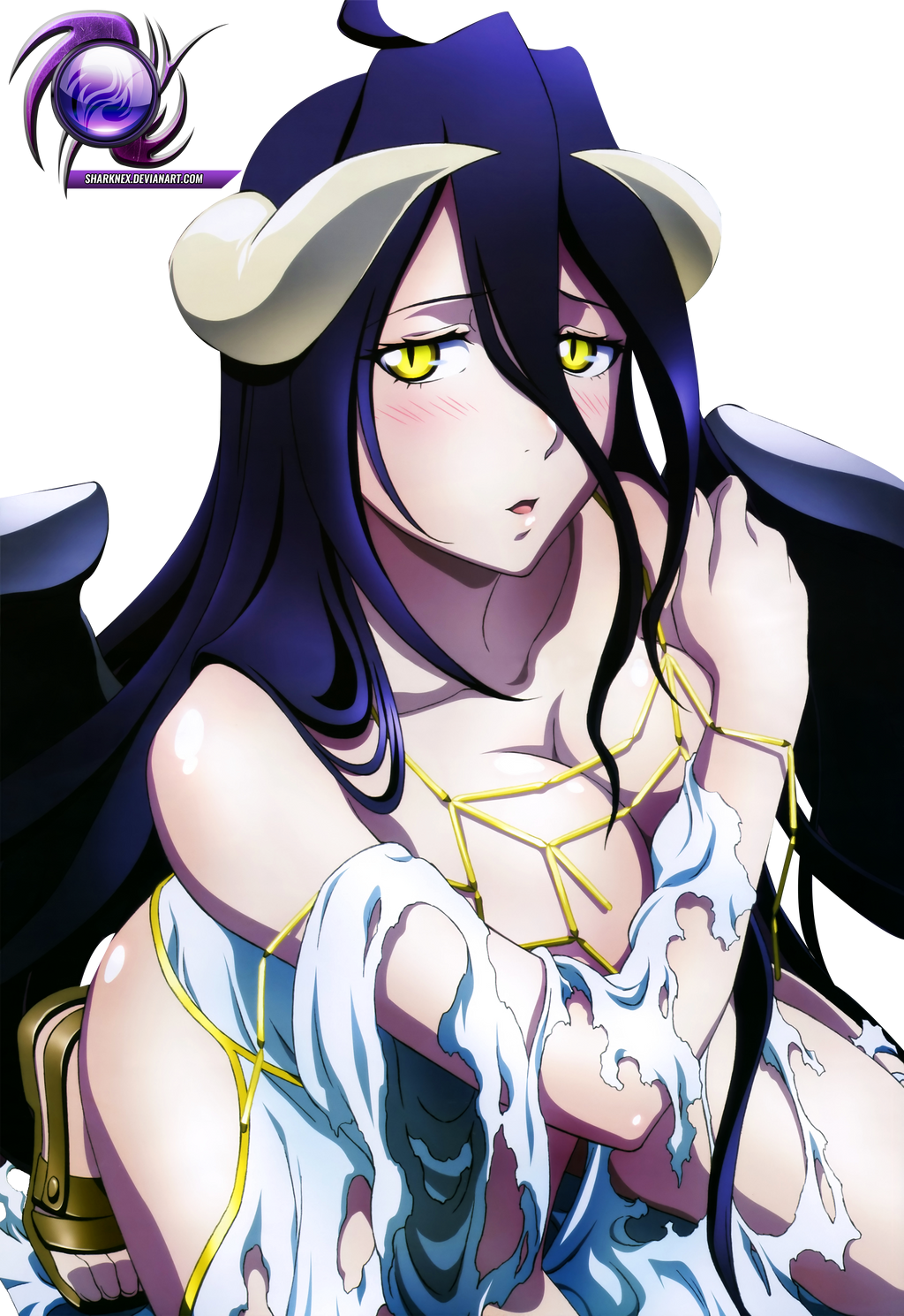 Overlord - Albedo render by  sharknex