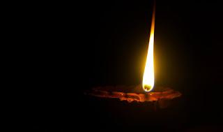 What is the real secret of Modi ji burning a lamp