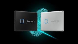 Samsung Rilis SSD dengan Sensor Sidik Jari (Fingerprint)