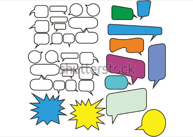 illustration download ballon chating