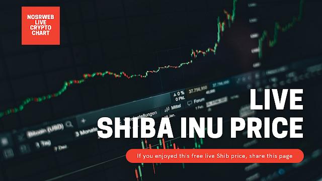 live shiba inu coin price