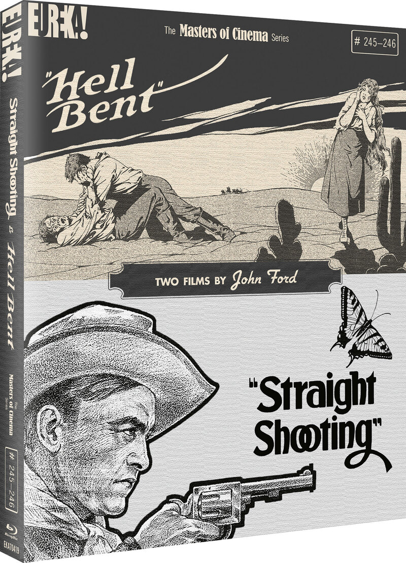 Straight Shooting & Hell Bent: Two Films by John Ford blu-ray