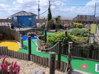 Blackbeard's Adventure Golf Courses in Hunstanton, Norfolk