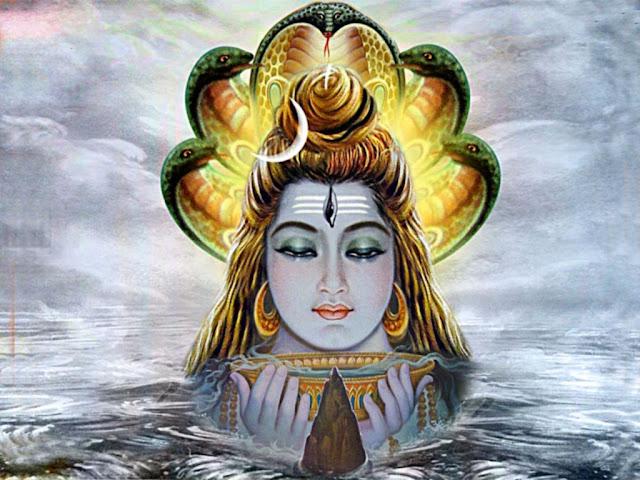 Lord Shiva  Wallpaper In Black & White Background