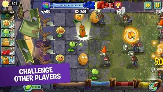Plants Vs Zombies 2 Mod apk Unlimited Gems