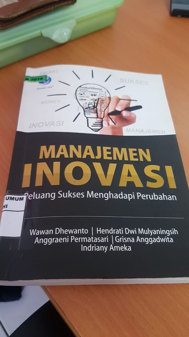 Buku Manajemen Inovasi - Wawan Dhewanto