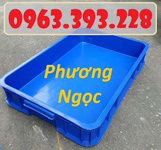 Thùng nhựa đặc HS025, thùng nhựa nguyên sinh có nắp, thùng đựng đồ cơ khí Ca1716ca4c39ae67f728