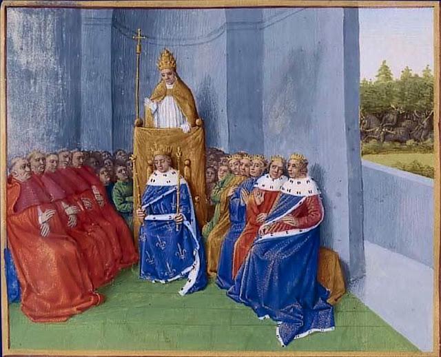 O Beato Papa Urbano II prega a I Cruzada