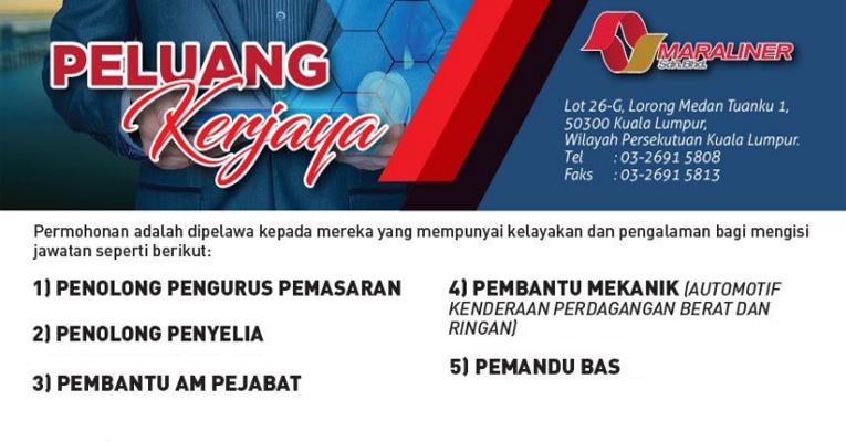 Jawatan Kosong di MARA Liner Sdn Bhd