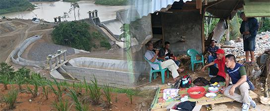 Tanggul PLTA Tanggamus Jebol, Tiga Rumah Hanyut Puluhan Lainnya Terendam