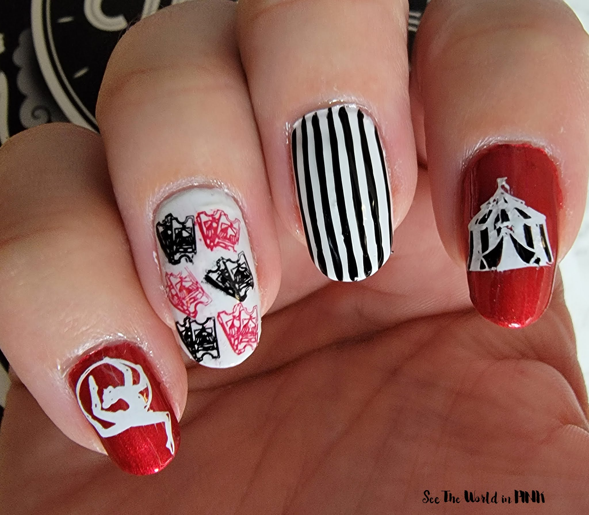 Manicure Monday - The Night Circus Nails