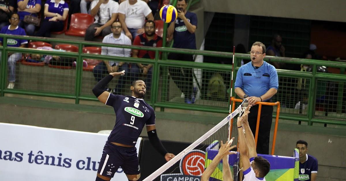 (Mineiro) Sada/Cruzeiro bate Minas Tênis Clube e fecha 1ª fase com seis vitórias