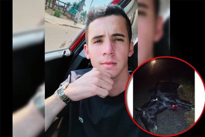 Jovem  morre após bater moto em cavalo solto na BR-429