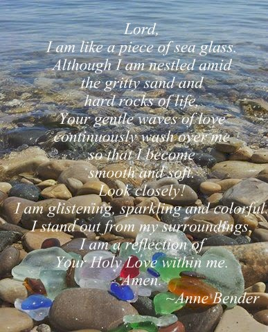 Sea Glass Prayer