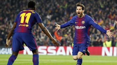 مباراة برشلونة ضد التشي