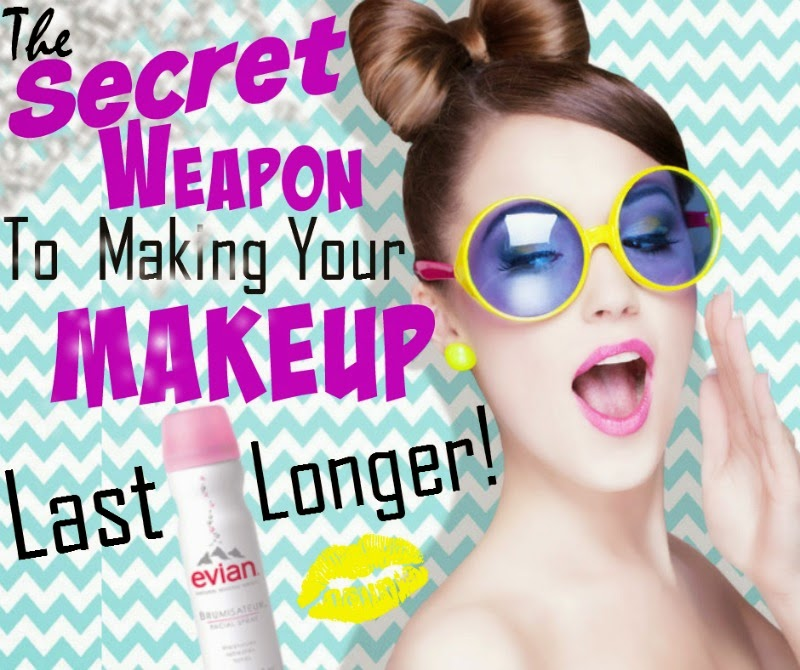The Secret Weapon On Making Your Makeup Last Longer, by Barbie's Beauty Bits. Evian® Facial Spray