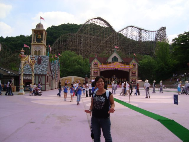 KOREA TRAVEL : PENGALAMAN NAIK ROLLER COASTER TERPANJANG DI DUNIA