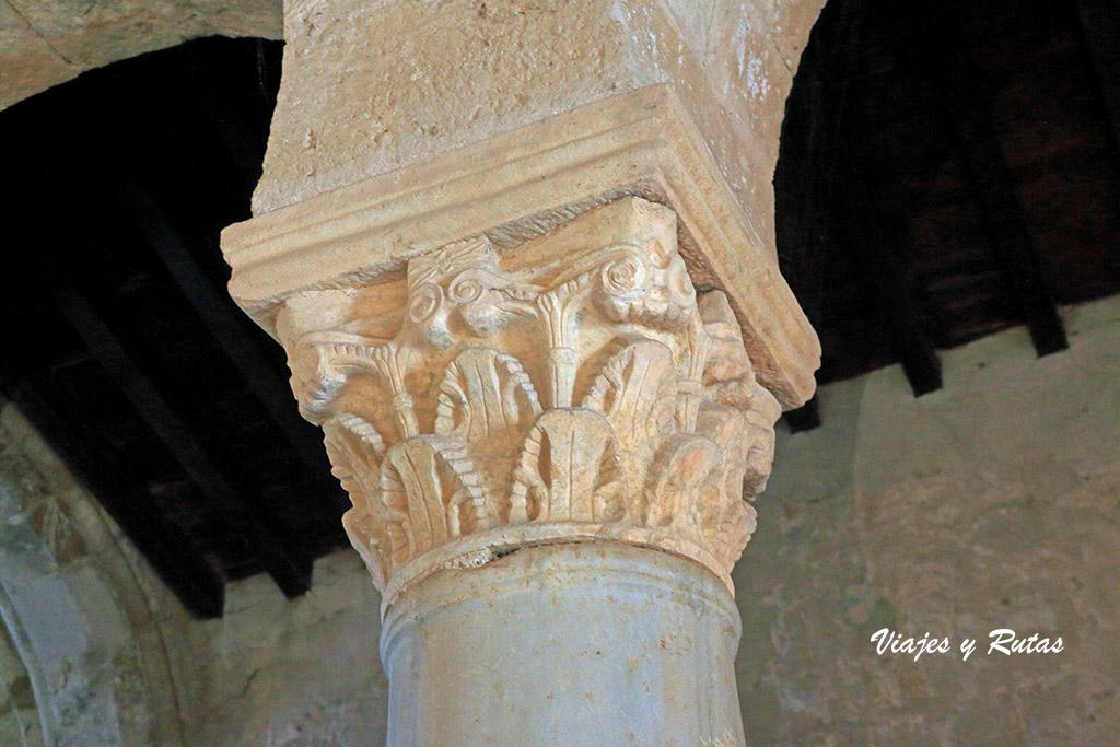 Capiteles de San Juan de Baños, Palencia