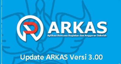 Update ARKAS Versi 3.00 Terbaru