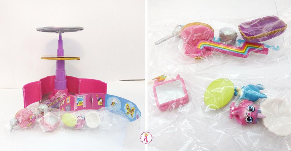 Что внутри консервы сюрпризы Rainbow Butterfly Unicorn Kitty 9 Lives