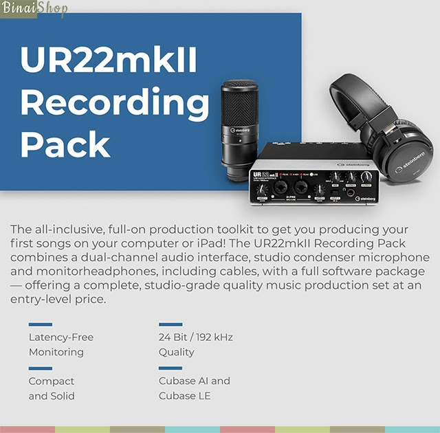 UR22 MKII studio