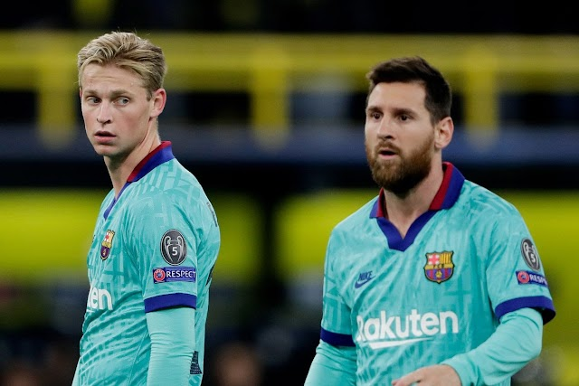 Frenkie de Jong 'is a very complete footballer' - Lionel Messi