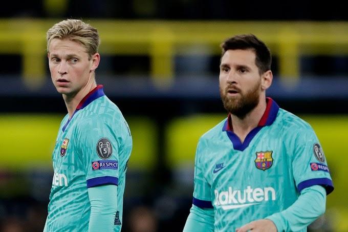 Frenkie de Jong 'is a very complete footballer' - Lionel Messi