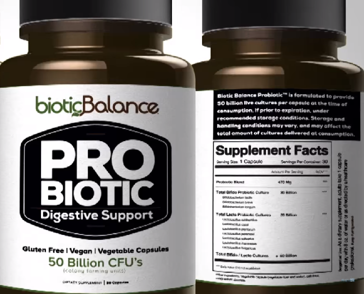 Probiotics supplements