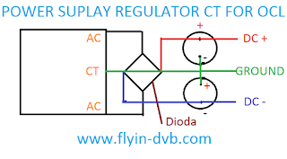 Cara membuat power suplay regulator untuk power ocl