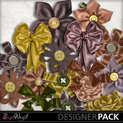 Digital Flowers Freebie