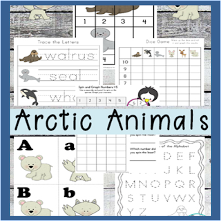 arctic animals preschool worksheets