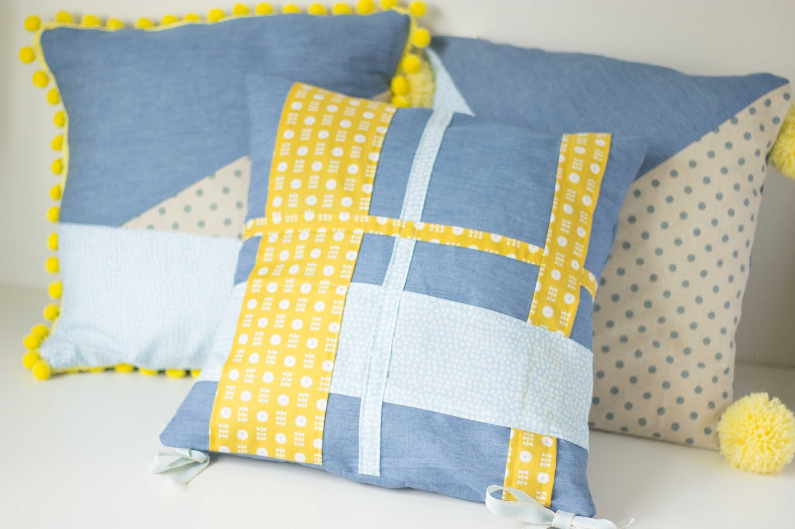sewing patterns for chair cushions cheap covers floral and feather how to sew a tartan effect cushion