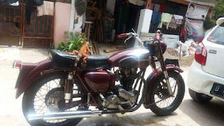 For sale cepat Ariel Red Hunter 1956 (350cc)
