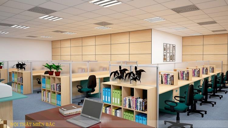 Công ty tư vấn thiết kế phòng làm việc chuyên nghiệp - Nội thất Miền Bắc