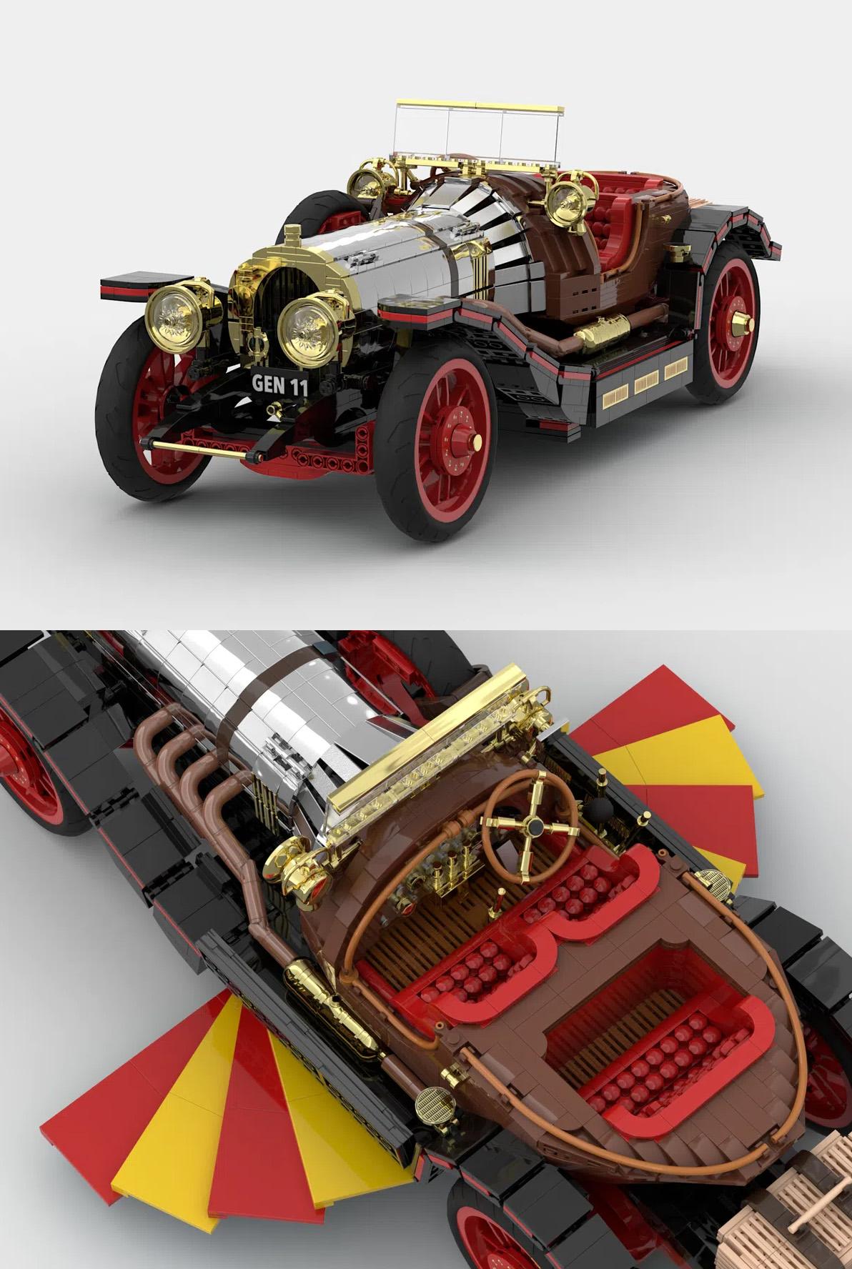 レゴアイデアで『チキ・チキ・バン・バン』が製品化レビュー進出!2021年第1回1万サポート獲得デザイン紹介