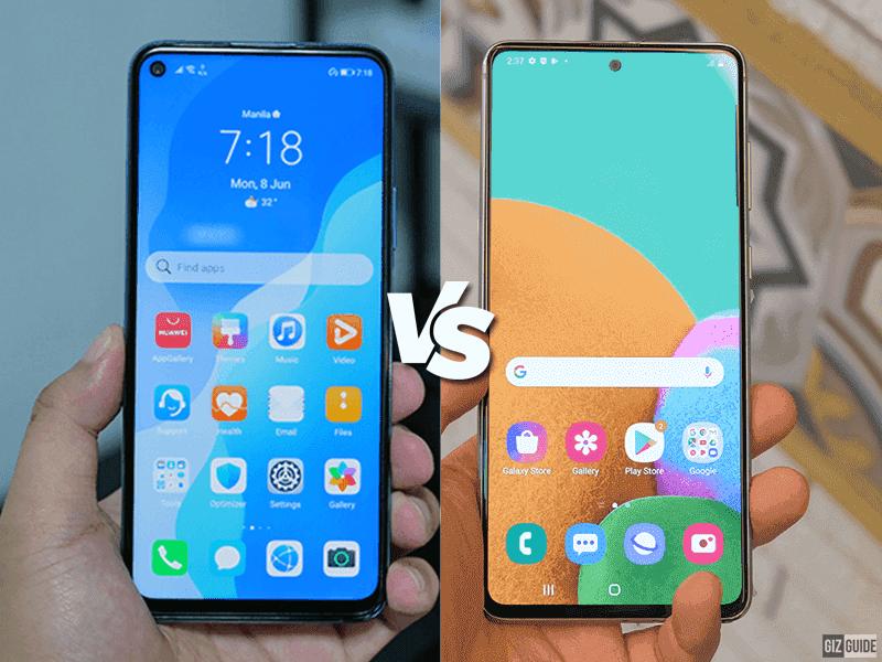 Huawei nova 7 SE 5G vs Samsung Galaxy Note10 Lite Specs Comparison