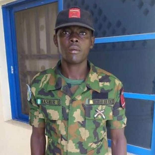 Honest Nigerian serviceman gets promoted for returning cash