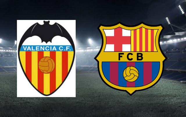مشاهدة مباراة برشلونة و فالنسيا ٢٥-١-٢٠٢٠ بث مباشر في الدوري الاسباني