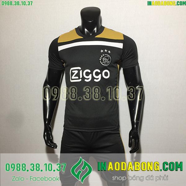Áo bóng đá câu lạc bộ Ajax 2020 màu đen