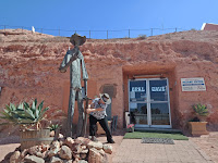Coober Pedy Public Art | Miner Sculpture