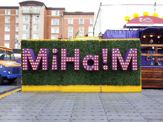 l'espace MiHa!M du ComediHa! Fest-Québec