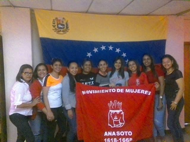 Movimiento de Mujeres Ana Soto realza su caracter antiimperialista