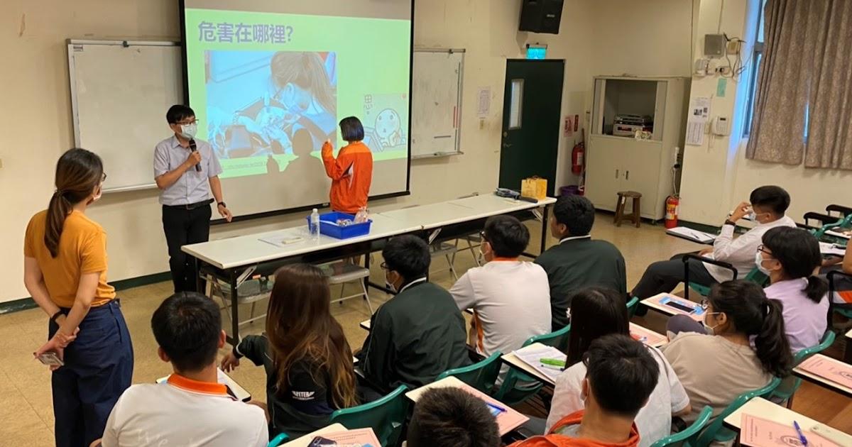 青年勞動安心Go! 中市府巡迴學校辦勞動教育宣導會