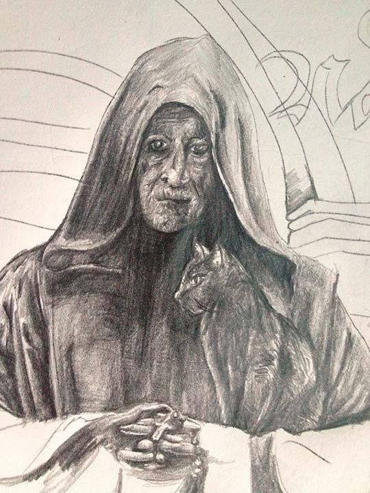 Ilustración de Mario Estévez
