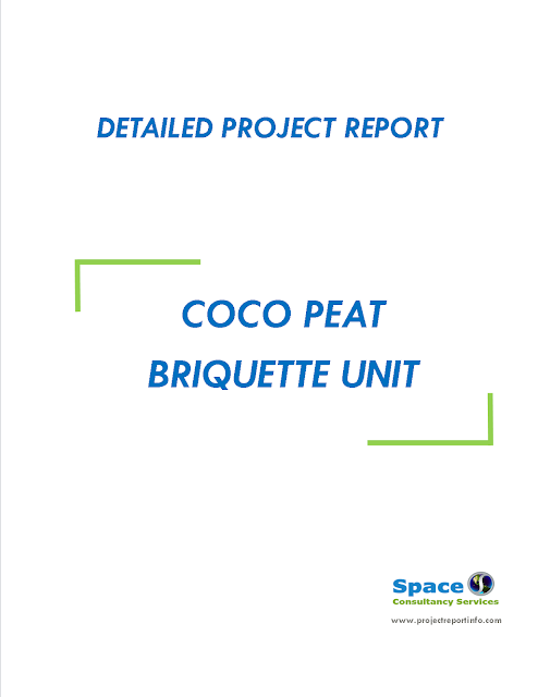 Project Report on Coco Peat Briquette Unit