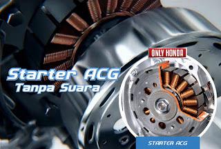 Ini Dia Teknologi yang ada pada Starter Motor Honda