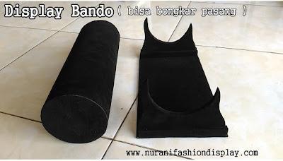 Tempat Display Pajangan Bando Bandana