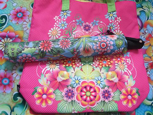 Celebrate Mother's Day with Hallmark #LoveHallmarkCA Catalina Estrada Hummingbird Haven Umbrella